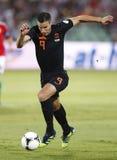 Hungary vs. Netherlands (1:4) Royalty Free Stock Photos