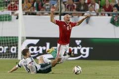 Hungary vs. Northern Ireland UEFA Euro 2016 qualifier football m Stock Images
