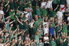 Hungary vs. Northern Ireland UEFA Euro 2016 qualifier football m Royalty Free Stock Photo
