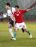 Hungary vs. Norway (0:2) friendly football game Stock Images