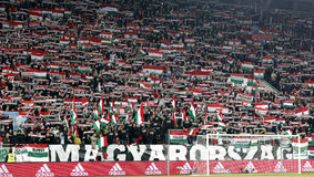 Hungary vs. Norway UEFA Euro 2016 qualifier play-off football match Stock Photo