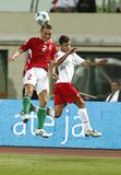 Hungary vs Portugal 0:1, FIFA World Cup Qualifier Royalty Free Stock Photo