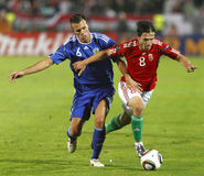 Hungary vs. San Marino 8-0 Royalty Free Stock Photography
