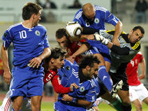 Hungary vs. San Marino 8-0 Stock Photography