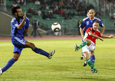 Hungary vs. San Marino 8-0 Stock Images