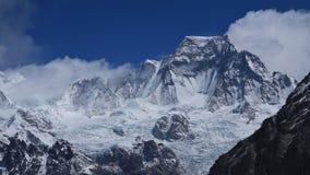 Hungchhi, alta montagna nella regione di Everest Immagine Stock