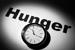 Hunger Royalty Free Stock Photography