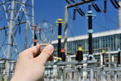 Energy and electricity Royalty Free Stock Photos