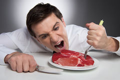 Hunger Royalty Free Stock Image