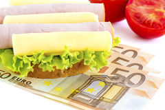 Hunger for money Royalty Free Stock Photo