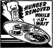 Hunger Removed Stock Photo