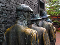 Hunger Sculpture of Breadline, Roosevelt memorial Stock Image
