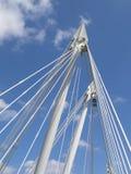 Hungerford Bridge, London Stock Images
