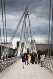 Hungerford Bridge London England Royalty Free Stock Photos