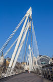 Hungerford Bridge in London Stock Photo