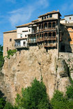 Hunging house in the city of Cuenca Royalty Free Stock Image