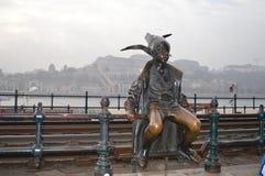 Hungría, Budapest, ` de la princesa del ` de la escultura pequeño Imagen de archivo