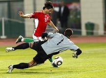 Hungría contra San Marino 8-0 Fotos de archivo