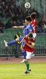 Hungría contra San Marino 8-0 Imagenes de archivo