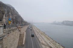 Hungria, Budapest, ` de Gellert do ` da montanha ou caverna de St John Foto de Stock Royalty Free