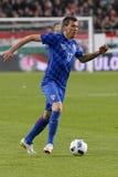 Hungria contra Países Baixos Fósforo de futebol amigável internacional da Croácia Fotografia de Stock Royalty Free