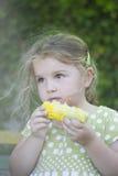 Hungrig flicka Royaltyfri Fotografi