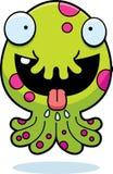 Hungriges Karikatur-Monster Lizenzfreies Stockbild