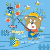 hungry ilustração royalty free