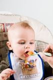 Hungry Baby Royalty Free Stock Photo