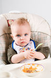 Hungry Baby Royalty Free Stock Images