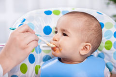 Hungry baby Royalty Free Stock Photography