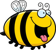 Hungry Cartoon Bee Stock Images