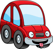 Hungry Cartoon Car Stock Images