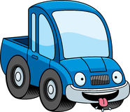 Hungry Cartoon Pickup Truck Stock Photo