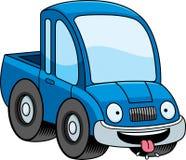 Hungry Cartoon Pickup Truck Stock Photo