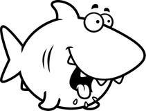 Hungry Cartoon Shark Stock Photo