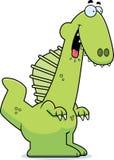 Hungry Cartoon Spinosaurus Royalty Free Stock Images