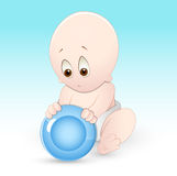 Hungry Child Vector. Creative Design Art of Hungry Child Vector Illustration Stock Photos