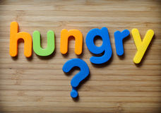 Hungry concept Royalty Free Stock Photo