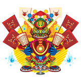 Hungry Ghost Day Festival Stock Image