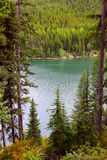 Hungry horse reservoir. Near Glacier national park in Montana Royalty Free Stock Image