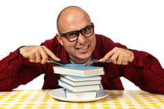 Hungry for knowledge Stock Photography