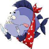 Hungry Piranha Stock Photography
