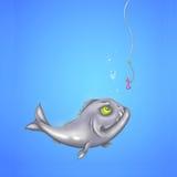 Hungry piranha Royalty Free Stock Image