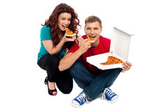 We are hungry, are you? Stock Photos