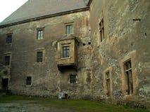 Huniarzilor van het huniardekasteel van het ruïnes oude fort middeleeuwse Stock Afbeeldingen