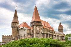 huniazi замока Стоковые Фотографии RF