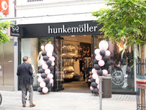 Hunkemöller opening Royalty Free Stock Photos