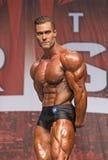 Hunky Kanadyjski Bodybuilder Wygrywa Toronto tytuł Obrazy Stock