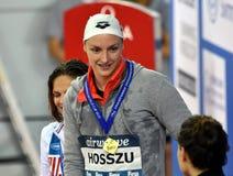 HUNNE Katinka HOSSZU Lizenzfreies Stockfoto